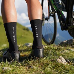 Chaussette #ridewithpassion - Black
