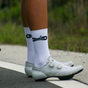 Chaussette Le Maillon - white - Enjoy your ride !